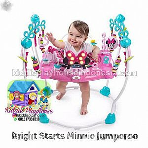 The Minnie Mouse Peek-a-Boo Activity Jumperoo