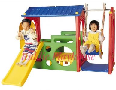 Haenim Super Playhouse Swing and Slide
